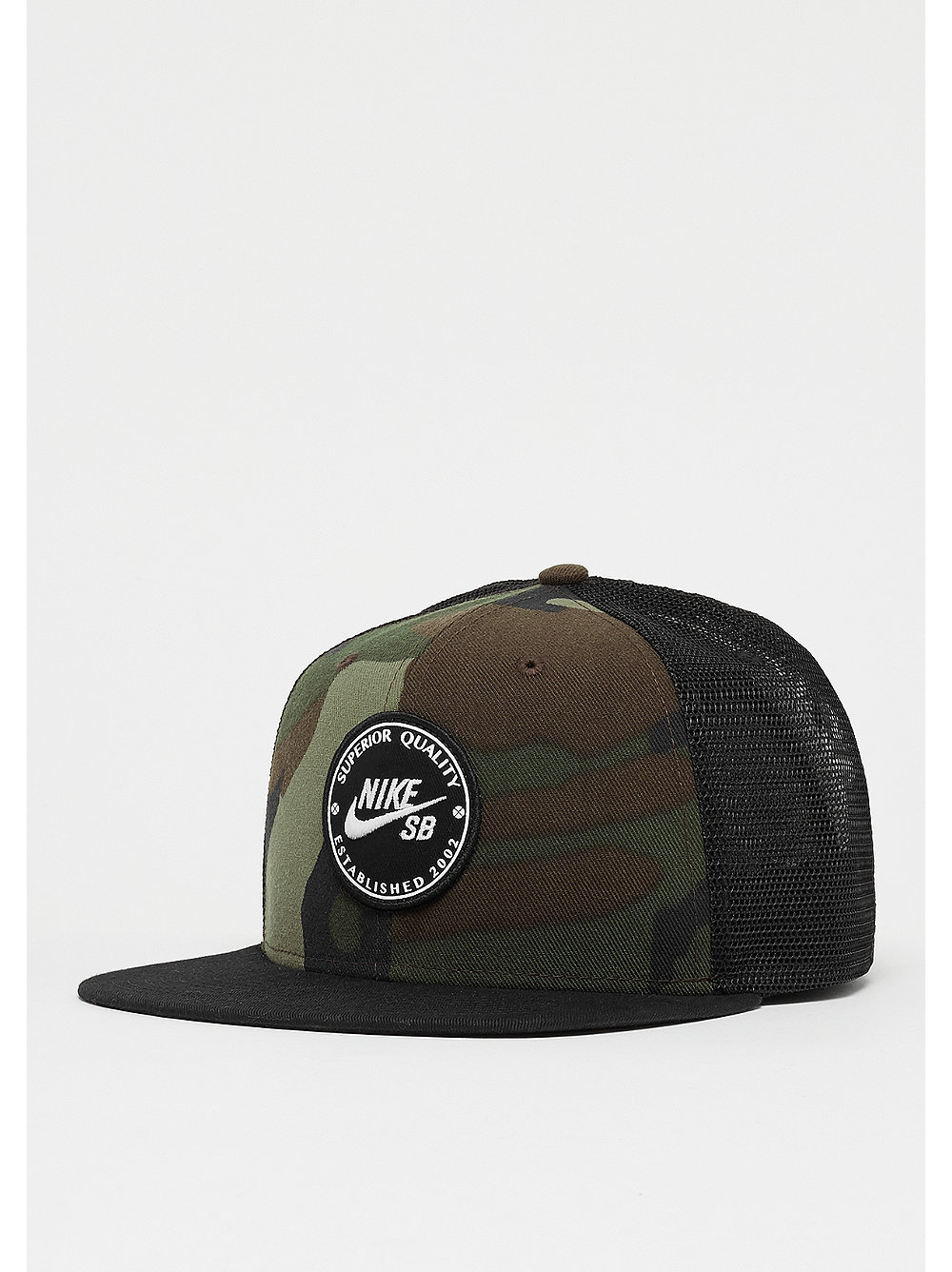NK Pro Cap Patch Trucker medium olive/black/black