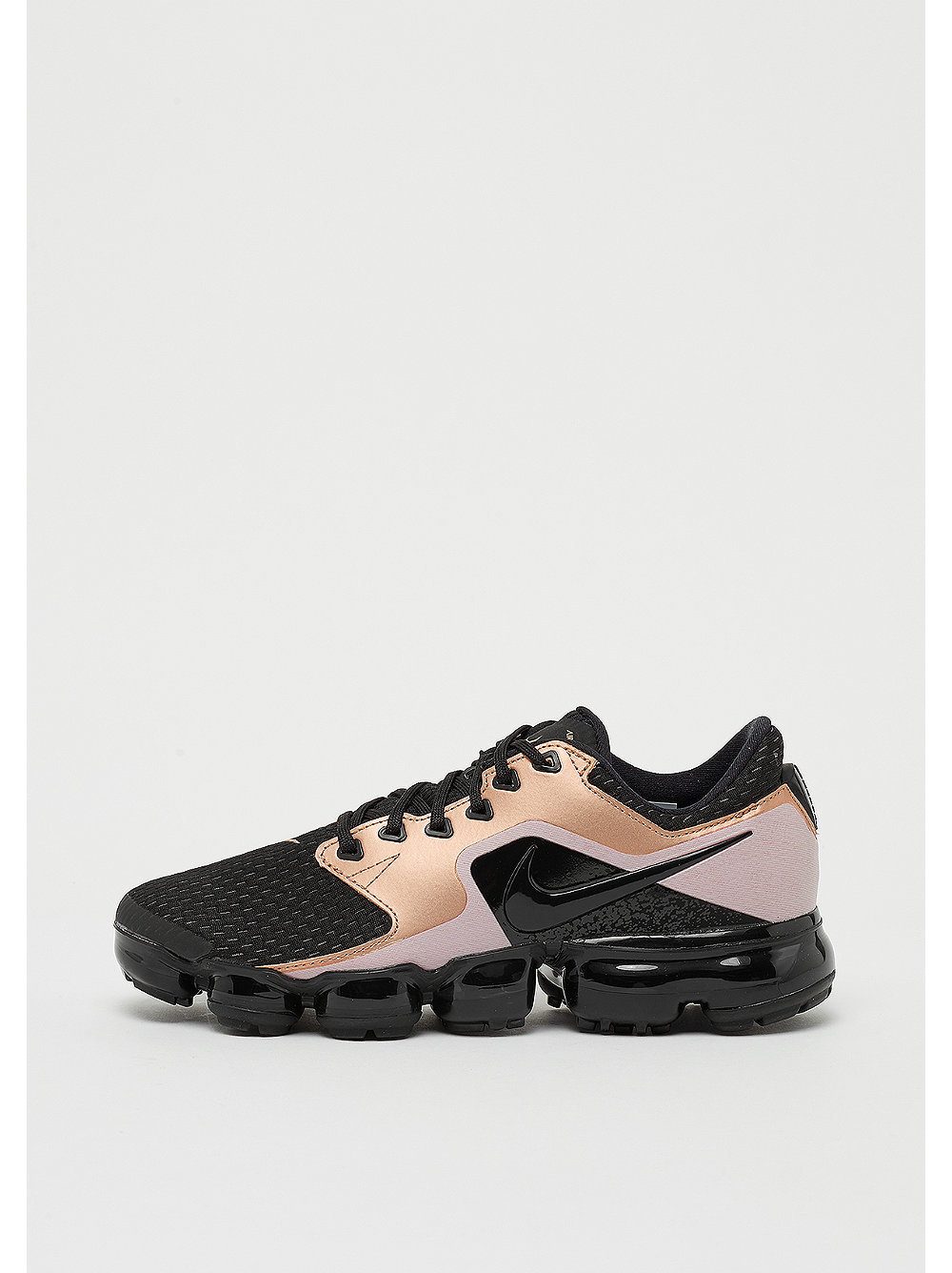 Wmns Air VaporMax black/black-black-mtlc red br...