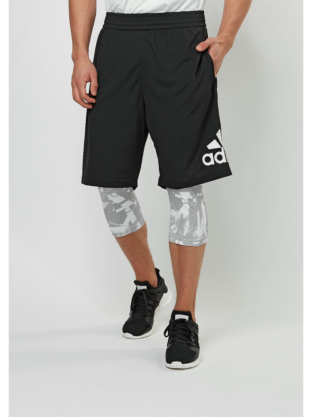 adidas Sport-Short CL GFX black