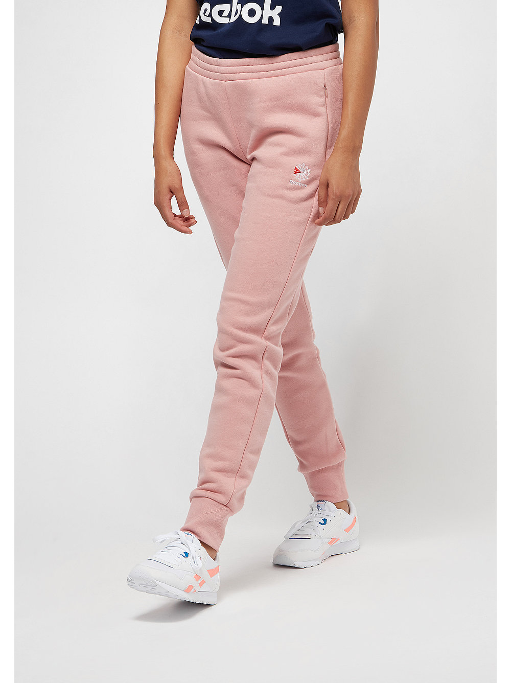 F Franchise Fleece chalk pink/classic white
