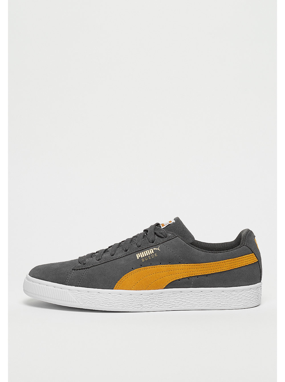 Suede Classic iron gate/buckthorn brown/white