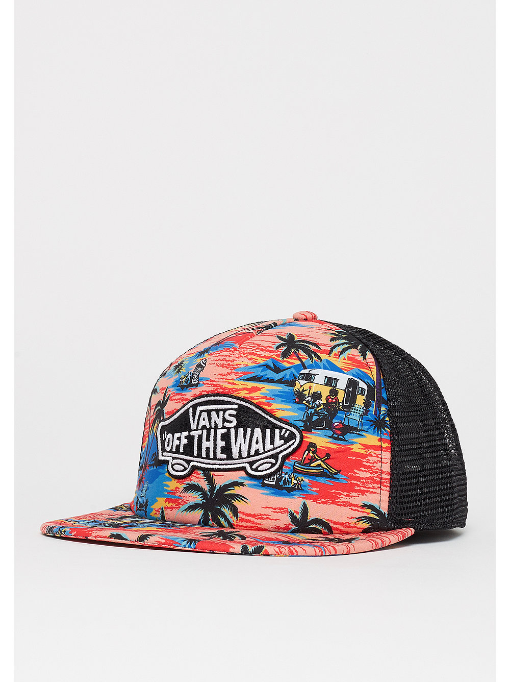Classic Patch Trucker Plus dystopia floral