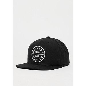 Snapback-Cap Oath III black | Accessoires > Caps > Snapback Caps | Schwarz | Wolle | Brixton