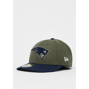 59Fifty Low Profile NFL New England Patriots har/otc | Accessoires > Caps > Fitted Caps | Multicolor | Wolle | New Era