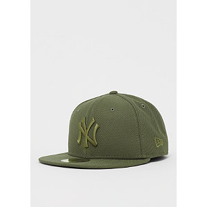 59Fifty MLB New York Yankees Diamond new olive | Accessoires > Caps > Fitted Caps | Grün | Polyester | New Era