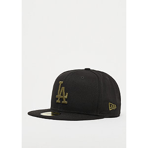 59Fifty MLB New York Yankees Essential olive/black | Accessoires > Caps > Fitted Caps | Schwarz | Baumwolle | New Era
