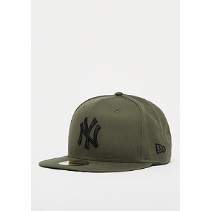 59Fifty MLB New York Yankees Essential new olive/black | Accessoires > Caps > Fitted Caps | Grün | Baumwolle | New Era