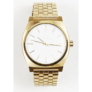 Time Teller gold/white   Schmuck > Armbänder > Goldarmbänder   Gold   Nixon