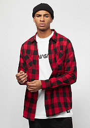 Checked Flanell Shirt black/red