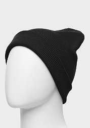 Beanie Basic Flap black