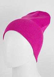 Beanie Basic Flap magenta