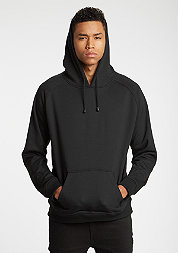 Hooded-Sweatshirt Blank black