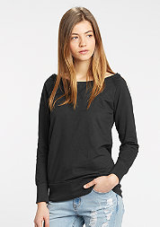 Sweatshirt Wideneck black