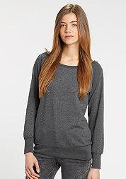Sweatshirt Wideneck charcoal