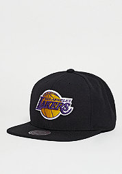 Snapback-Cap Wool Solid Los Angeles Lakers black