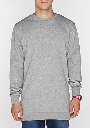 Sweatshirt Side Zip grey