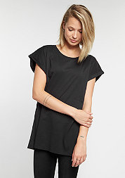 T-Shirt Extended Shoulder black