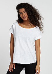 T-Shirt Extended Shoulder white