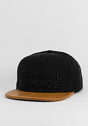 CriminalDamage Cap 91 black/brown