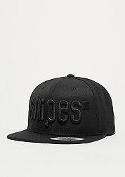 Snapback-Cap Big Logo 3D black/black