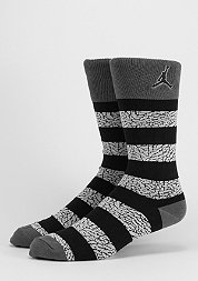 Fashionsocke Elephant Striped dark grey/black