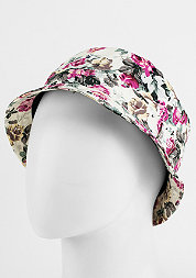 Bucket Hat Rose white rose