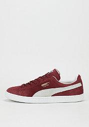 Schuh Suede Classic+ cabernet/white