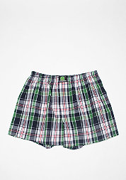 Boxershort Plaid blue/green/white