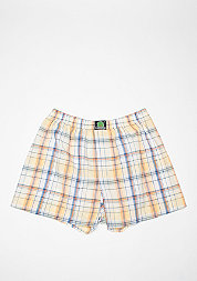 Boxershort Plaid yellow/white/blue/orange