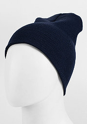 Beanie Basic Flap navy