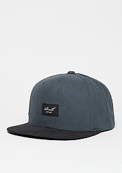 Snapback-Cap Pitchout 6-Panel charcoal/black