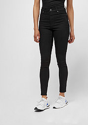 Jeans High Spray black