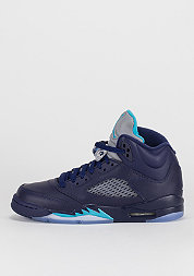 Air Jordan 5 Retro navy/turquoise/white
