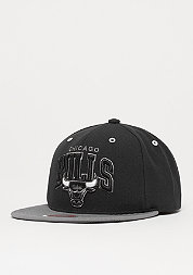 Snapback-Cap BGW2 NBA Chicago Bulls black/charcoal