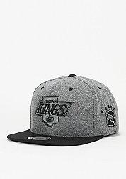Snapback-Cap Broad NHL Los Angeles Kings grey/black