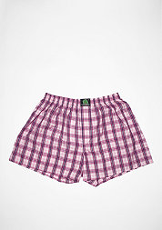 Boxershort Plaid pink/purple