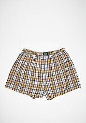 Boxershort Plaid yellow/blue/white