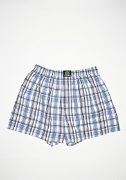 Boxershort Plaid blue/white