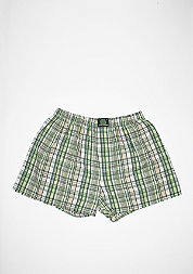 Plaid green/beige/white