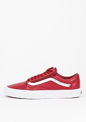 Schuh Old Skool Zip Premium Leather chili