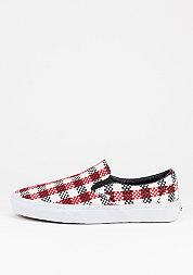 Schuh Classic Slip-On Checker Plaid black/whit