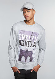 Sweatshirt BRKLYN heather grey