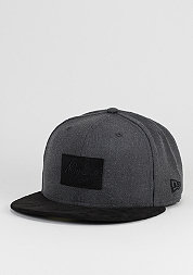 Fitted-Cap Suede Patch 59Fifty graphite/black