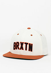 Snapback-Cap Hamilton white/burnt orange