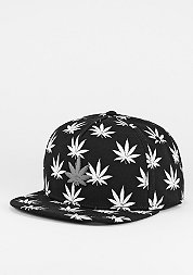 Snapback-Cap Best Budz black/white/silver