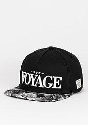 Snapback-Cap WL Bon Voyage black/white