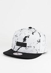 Snapback-Cap Marble Own Brand white