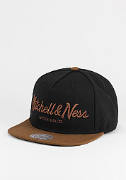 Snapback-Cap Pinscript black/tan