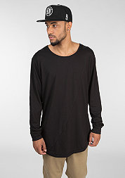 Longsleeve Long Shaped Fashion black