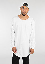 Longsleeve Long Shaped Fashion white